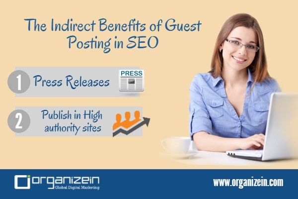 The Indirect Benefits of Guest Posting in SEO - By Organizein