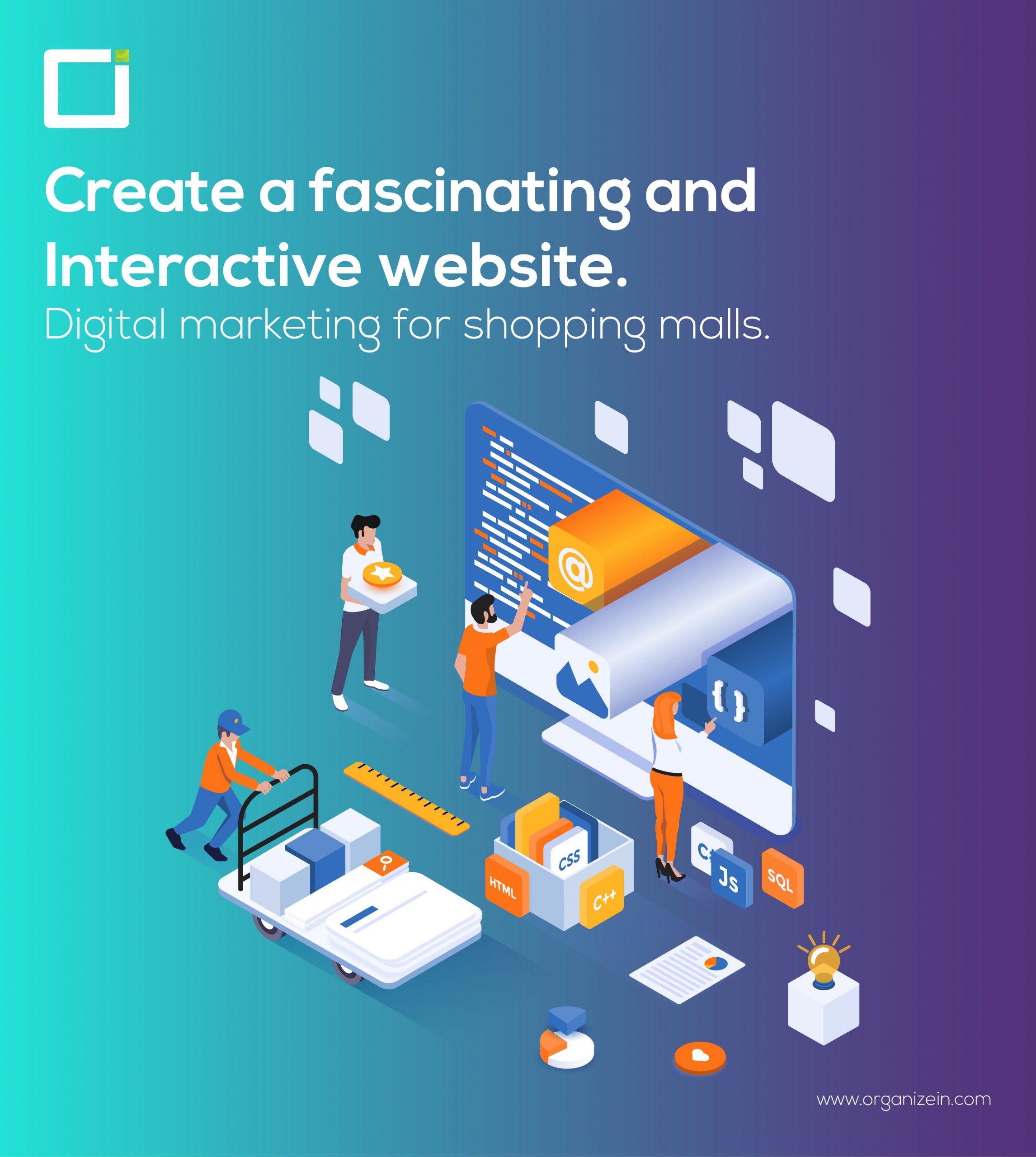 Digital marketing for shopping malls