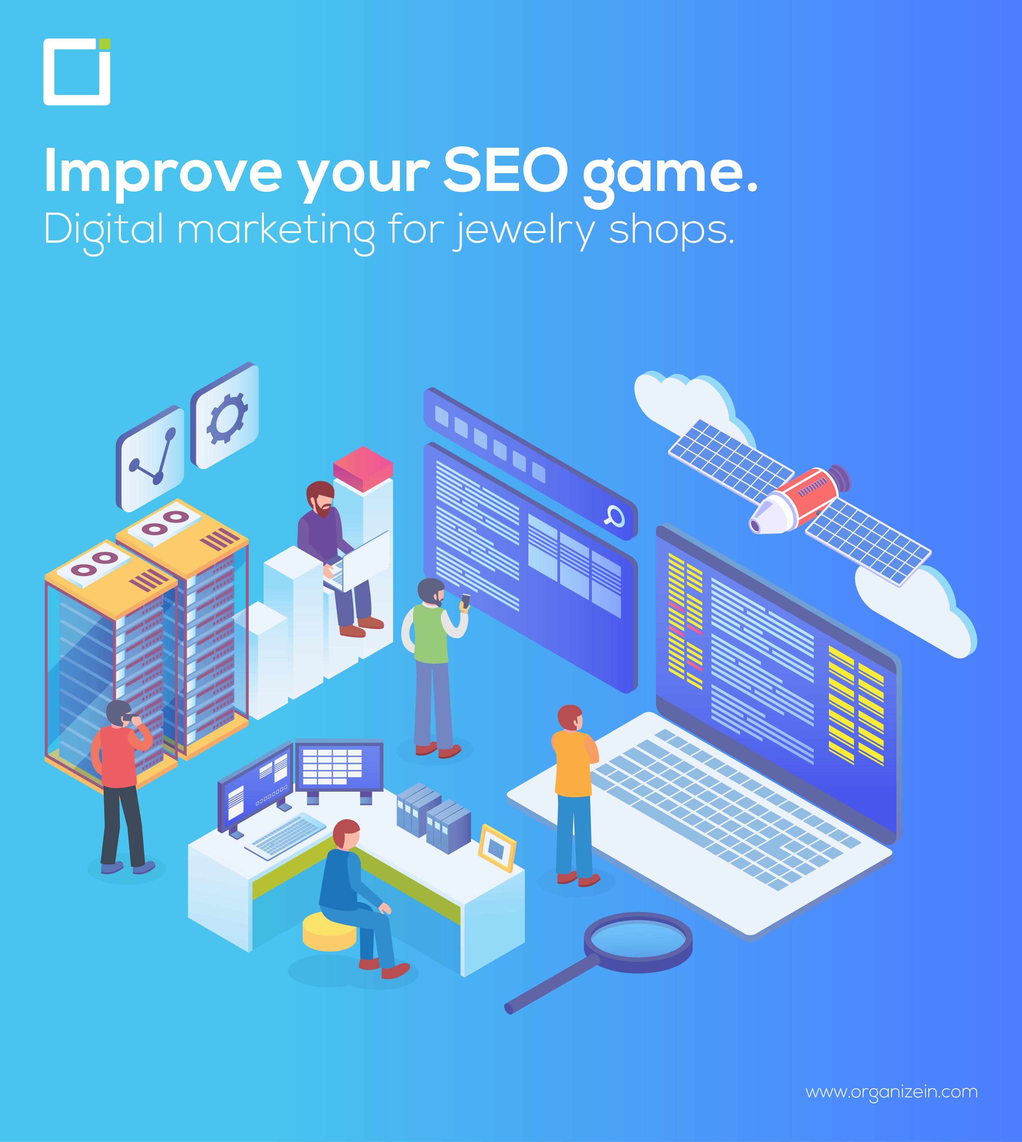 Digital marketing for jewelry shops