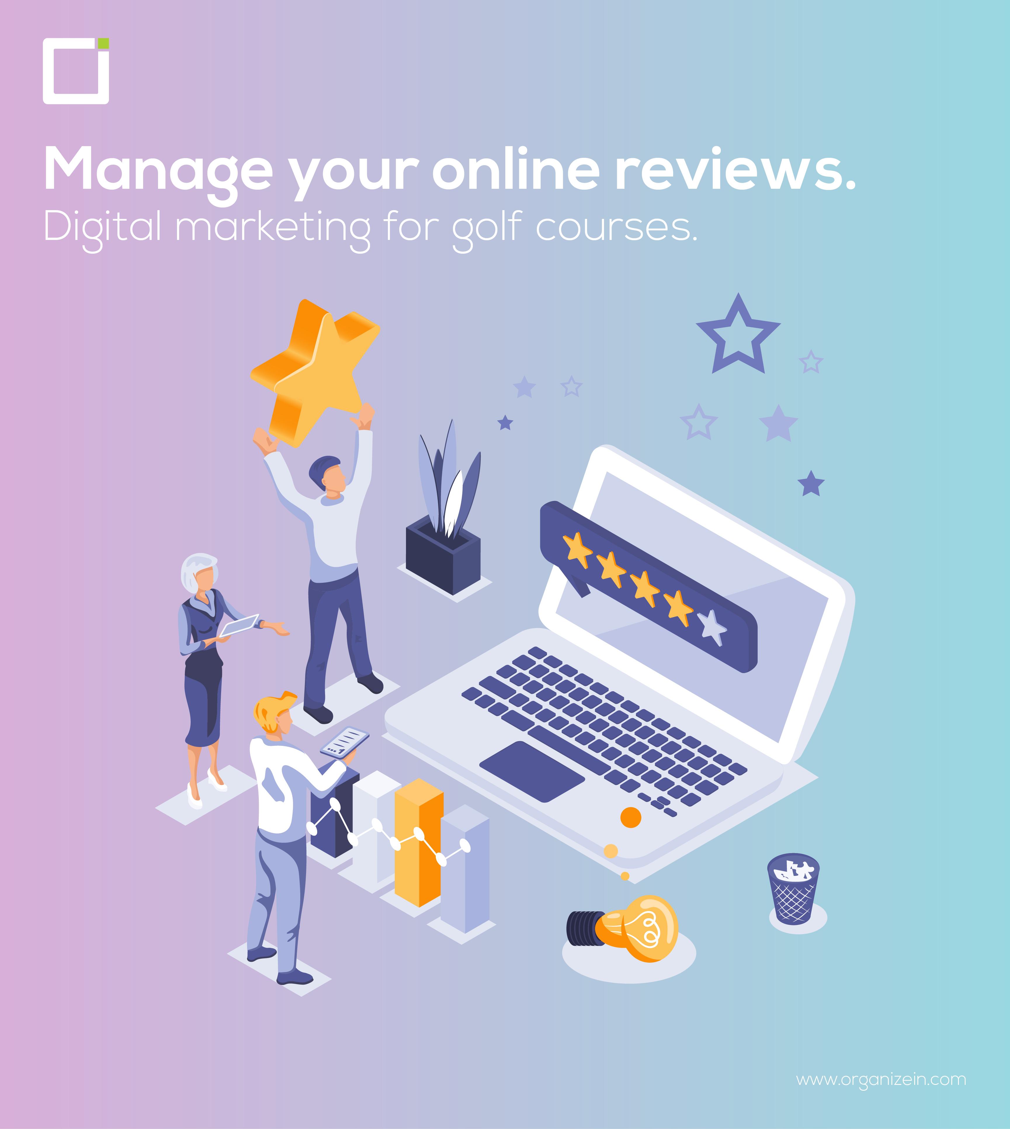 Digital marketing for golf courses